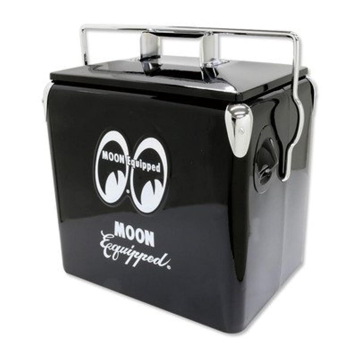 [해외] 문 이큅 드 MOON EQUIPPED 쿨러 박스 블랙 MOONEYES 그랜드 ping 캠프