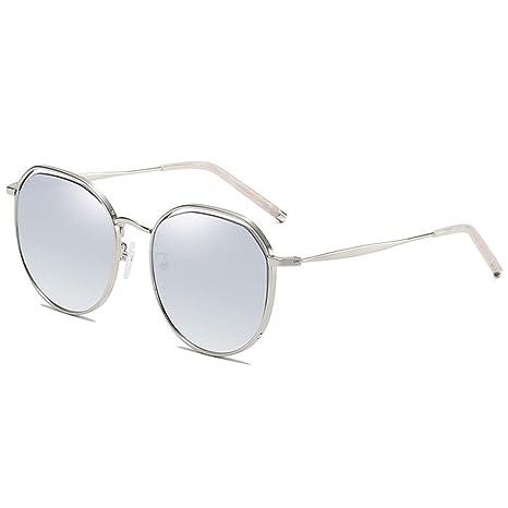 QZ Nueva Tendencia Nylon Lentes Gafas De Sol Hombres Y ...