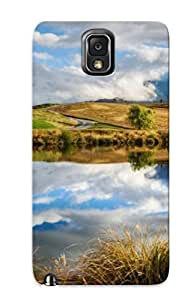 New Premium Oxqefw-5845-gfzsgzc Case Cover For Galaxy Note 3/ Fluffy Clouds Over The Cliffs Protective Case Cover