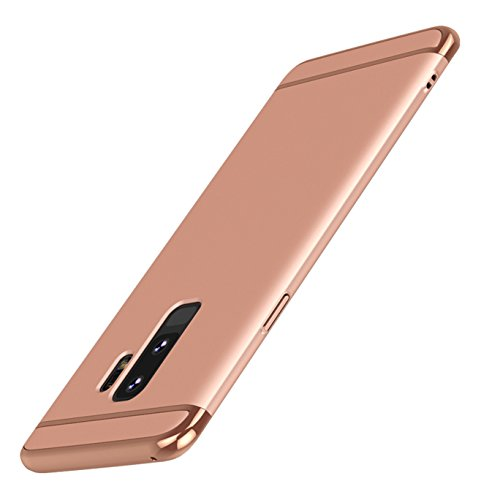 ATRAING Galaxy S9 Plus case, A Trading Shockproof Thin Hard Case Cover for Samsung Galaxy S9 Plus (Rose Gold)