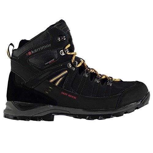 Karrimor Mens Hot Rock Weathertite Waterproof Trekking Walking Boots Black sslhfGe