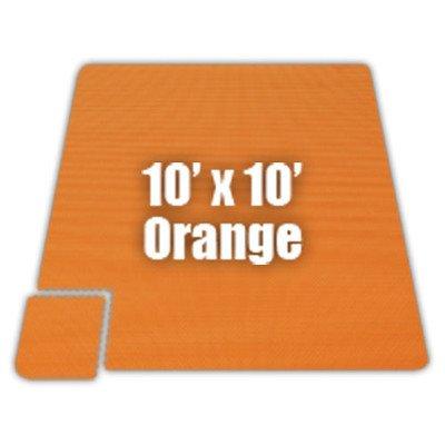 Premium SoftFloors Set in Orange Size: 20′ x 50′
