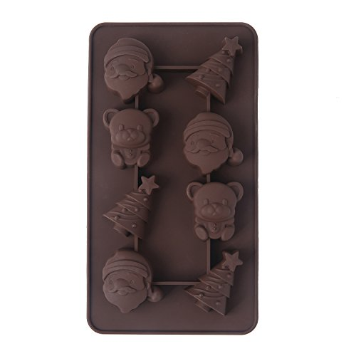 Crazy Egg Reusable Silicone Mold for Cake, Chocolate, Jelly, Candy and Ice cubes (1,