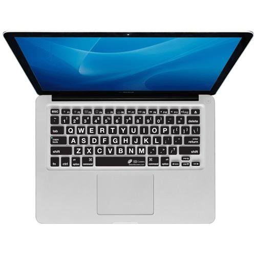 KB Covers Keyboard Cover for MacBook Pro/Air, Large Type