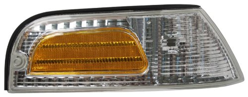 OE Replacement Ford Crown Victoria//LTD Passenger Side Parklight Assembly Partslink Number FO2521147