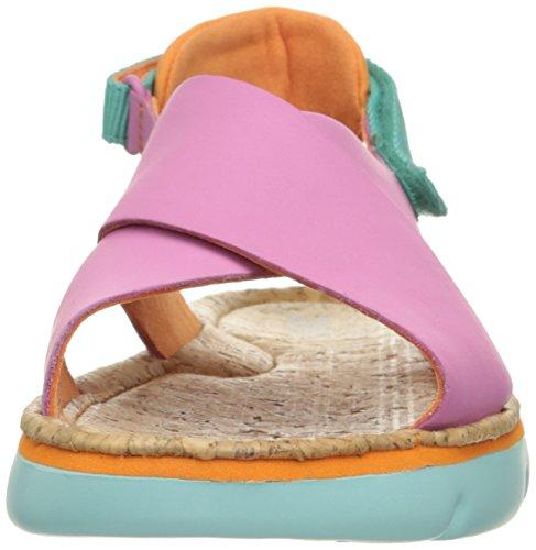 Campervrouwen Oruga Sandaal Pastel Roze