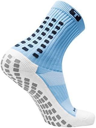 Amazon.com: TRUSOX Mid-Calf Crew Cushion Soccer Socks (Pair ...