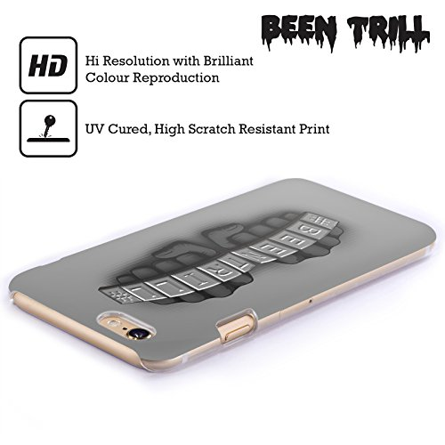 Official Been Trill Knuckles Silver Bling Blings Hard Back Case for Apple iPhone 6 Plus / 6s Plus