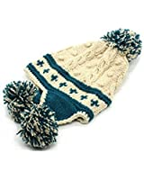 Ibeauti Exquisite Women's Winter Warm Crochet Cap with Ear Flaps Knitted