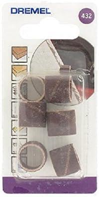 Dremel 432 - Pack de 6 bandas de lijar (13 mm, grano 120): Amazon.es: Bricolaje y herramientas