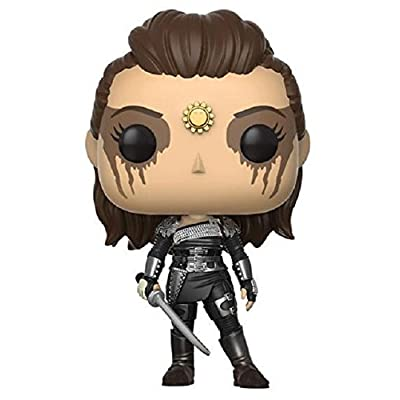 POP! TV #442 The 100 Lexa Vinyl Figure, With Eye Paint: Funko Pop! Television:: Toys & Games