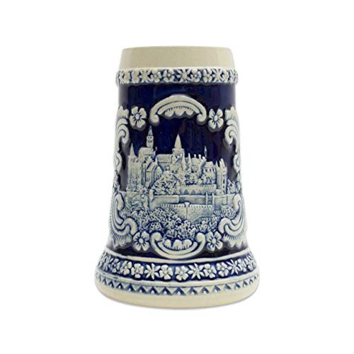 Beer Stein Engraved Bavarian German Castle Beer Mug by E.H.G. | 0.60 ()