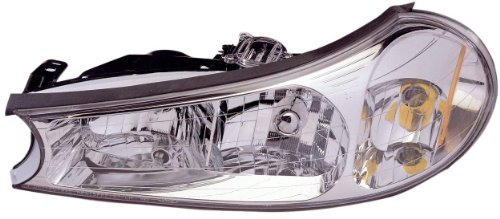 Fleetwood Providence 2008-2015 RV Motorhome Pair (Left & Right) Replacement Front Headlights with Bulbs