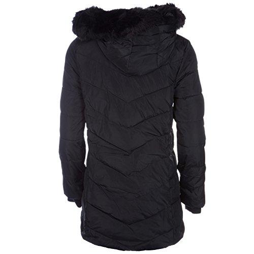Jacket Sleeve Puffa Charcoal Salcombe Women's Black Down Long rwXX8WqO
