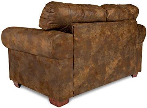 American Furniture Classics Wild Horses Love Seat - a good cheap living room sofa