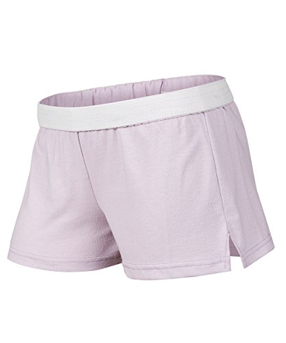 Soffe Juniors New Low Rise Short, Filtered Orchid, Medium