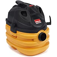 Shop-Vac 5872810 6.0 Peak HP Heavy Duty Portable Vacuum, 5 gallon, Yellow/Black