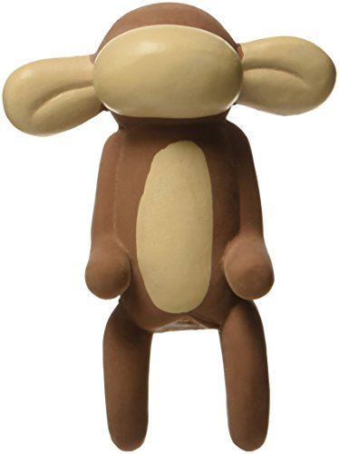 Charming Pet Products DCA79950XS Premium Latex Jungle Balloon Dog Toy, Murray The Monkey, -