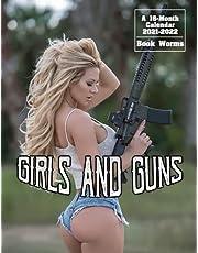 Girls And Guns Calendar 2021-2022: Hot Badass Women In 16-Month Monthy Agenda Home Supplies
