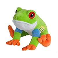 Wild Republic Jumbo Tree Frog Plush, Giant Stuffed Animal, Plush Toy, Gifts for Kids, 30 Inches