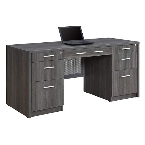 at Work Credenza 59''W Espresso Laminate by NBF Signature Series