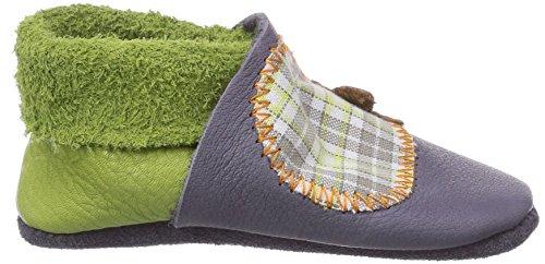 Pololo Igel - Zapatillas de estar por casa Unisex niños Graphit