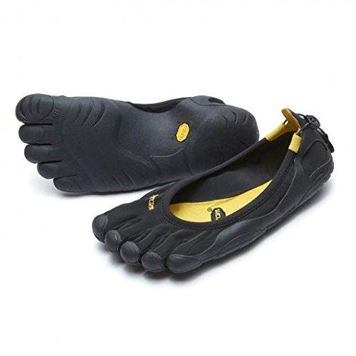 vibram five fingers ビブラム ファイブフィンガーズ レディース Classic W108 Black (W40(25.0cm), Black)