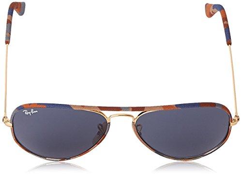 Ray Unisex NULL Dorado Sol 3025 Ban Gold NULL RB de Grey Gafas Aviator rqrH0a
