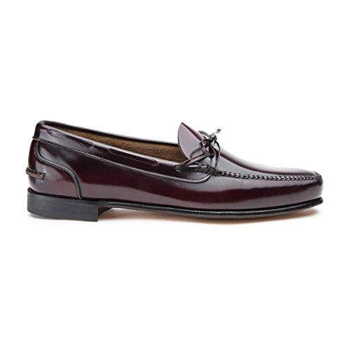 Castellano® 1920 Madrid - Mocasín florentick burdeos pala baja para hombre: Amazon.es: Zapatos y complementos