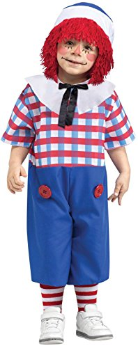 Little Boys' Raggedy Andy Costume Large -