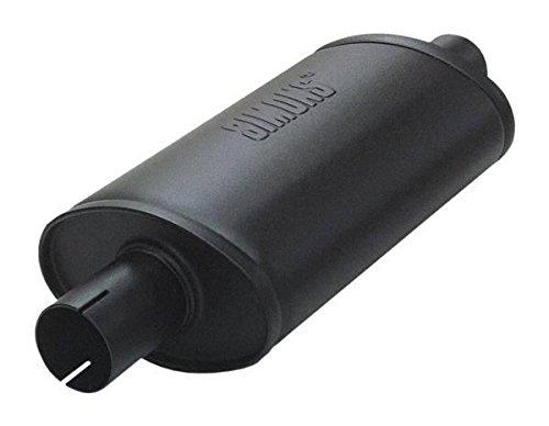 Jetex, scatola silenziatore dello scarico, 5 cm, universale, forma ovale, in acciaio dolce, lunghezza 320 mm (U355124)