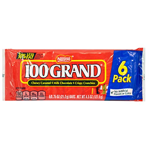 (Pack of 144, 24 Cases) Nestle 100 Grand Chocolate Bar .75 oz ()