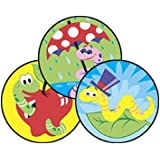 Wiggly Worms (Dirt) Stinky Stickers-Large Round