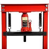 Goplus 12 Ton Hydraulic Floor Shop Press H-Frame
