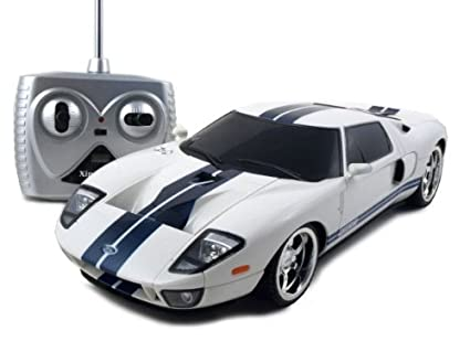 Remote Control Ford Gt White   Rc Car