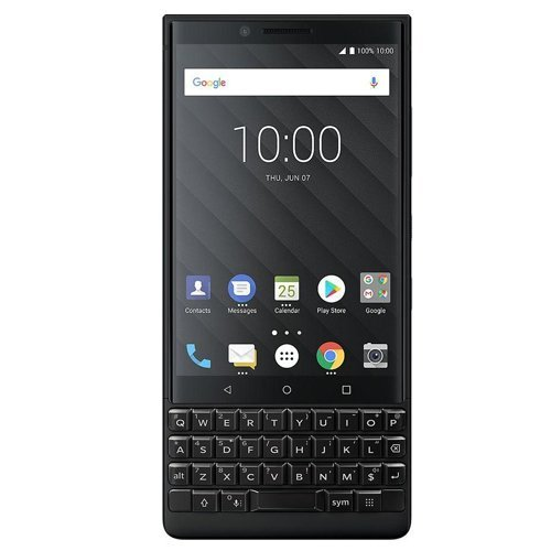 (BlackBerry Key2 BBF100-6 64GB/6GB Dual Sim Factory Unlocked GSM ONLY, NO CDMA - International Version (no Warranty in The USA))