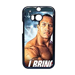 Printing Wwe The Rock Dwayne Johnson For Htc M8 Personalised Back Phone Case For Kid Choose Design 4