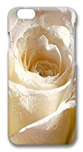 ACESR Awesome iPhone 6 Cases, White Rose PC Hard Case Cover for Apple iPhone 6 (4.7 INCH) - 3D Design iPhone 6 Case by runtopwell