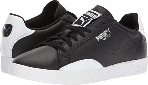 PUMA Women's Match Black Silver White 8 B US