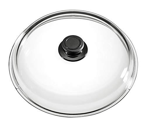 Compra Tapa de cristal 24 cm, 5, 5 cm de alto, apto para horno ...