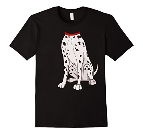 Mens Dalmatian Costume T-Shirt for Halloween Dog Animal Cosplay XL (100 Dalmatians Costumes)