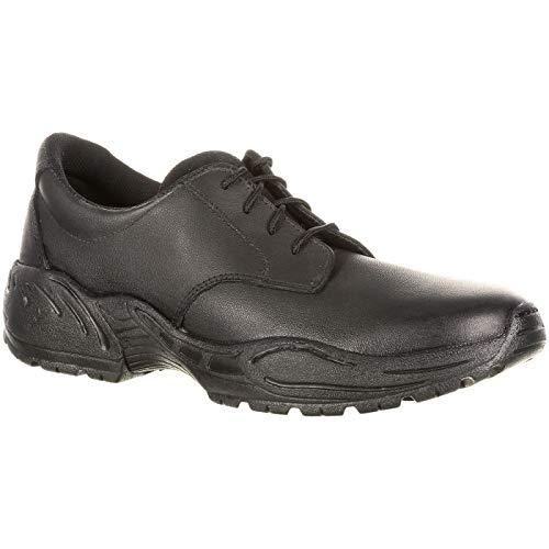 ROCKY Plain Toe Duty Oxford Black ()