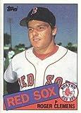 1985 Topps Baseball #181 Roger Clemens Rookie Card