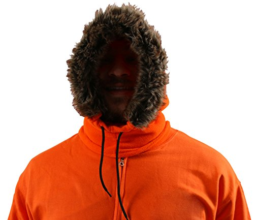 CONCEPT ONE South Park Kenny McCormick Cosplay Hood Hat]()