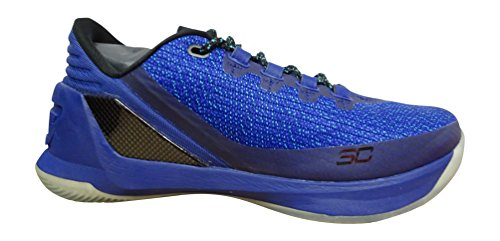 UA Sneakers 3 Basketball Low 540 Chaussures Bleu Curry 1286376 Under Armour Pourpre Trainers 8wqnxxZ