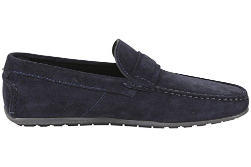 Hugo Boss Heren Dandy Mocassins Loafers Schoenen Donkerblauw