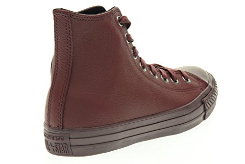 Baskets Deep All Deep Hi Montantes Converse Leather Adulte Bordeaux Star Bordeaux Mixte avAdwxInqH
