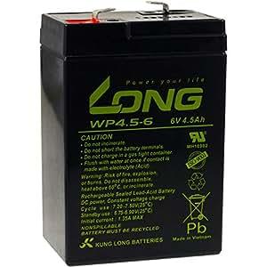 Powery KungLong Batería de Reemplazo para Sistemas solares ...