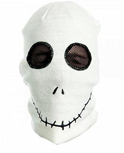 [Nightmare Before Christmas JACK SKELLINGTON Knitted SKI MASK] (Jack Skellington Mask)