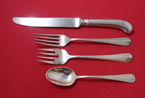 Rattail Antique Reed Barton Dominick Haff Sterling Silver Regular Setting(s) 4pc Dominick & Haff Rat Tail